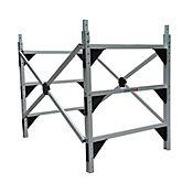 Sección Andamio 2x1.25x1.5 en Aluminio