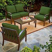 Conjunto Para Jardìn 4 Piezas Real Bridgeport Color Verde