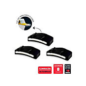 Set De 3 Luz LED Alto Brillo Para Casco O Gorra
