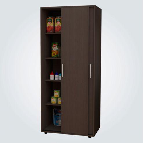 Mueble Alacena para Cocina Futura Multiusos 187cm Alto x 80cm Ancho x50cm  Fondo Wengue