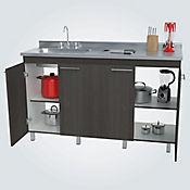 Mueble Inferior para Cocina París 4 Puertas 92 cm Alto x Ancho 150 cm x Fondo 50 cm Salvaje