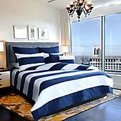 Set Duvet Nautical Blue Semidoble 120x190 cm
