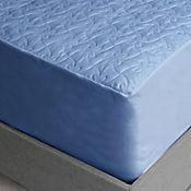 Protector de Colchón Acolchado Azul Semidoble 120 x 190 cm