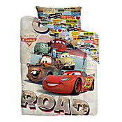 Comforter Doble 150 Hilos Cars Open Road