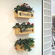 Matero Pared Garden Pequeño 40 X 11,5 X 10 Cms