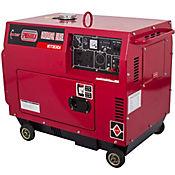 Planta Eléctrica Diesel Liviano Cabinado 5300W 10 Hp