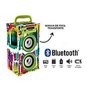 Parlante Portátil Recargable 6Wrms Bluetooth