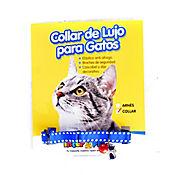 Collar para Gato con Cascabel Azul