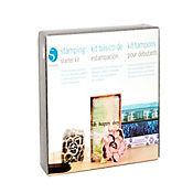 Kit de Inicio Para Estampado de Sellos Personalizados