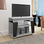 Mesa para TV Canadá 80x40x60cm Gris/Negro