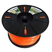 Nylon Naranja 2.7 Mm Cuadrado 2 Kg