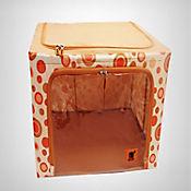 Caja Organizadora para Ropa Naranja