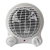 Calentador de Ambiente 3 Velocidades 1500W Blanco K-CA18
