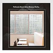 Película Decorativa Blanca Malla 1,22m Ancho HGWP0106