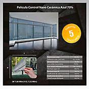 Película Control Nano Cerámica Azul 1,52m Ancho HGCSBL70