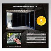 Película Control Solar Grafit 1,52m Ancho HGCSGRF05