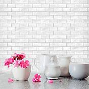 Pared Cerámica Decorado Queens Branco 34x50 cm 1.66 m2