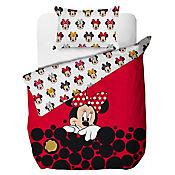 Comforter Sencillo 150 Hilos Minnie Red