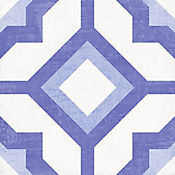 Cuadrado Kaled Cara Única 19.8x19.8 centímetros Azul