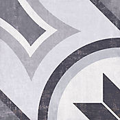 Cuadrado Nair Cara Única 19.8x19.8 centímetros Negro