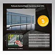 Película Control Nano Cerámica Azul 2x1,52m HGCSBL70-2m