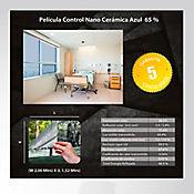 Película Control Nano Cerámica Azul 2x1,52m HGCSBL65-2m