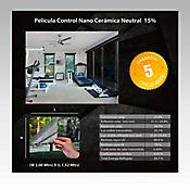 Película Control Nano Cerámica Neutral 2x1,52m HGCSN15-2m