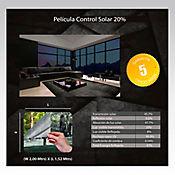 Película Control Solar Grafito 2x1,52m HGCSGRF20-2m