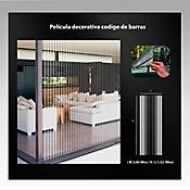 Película Decorativa Código De Barras 2x1,22m HGWBRR152-2m