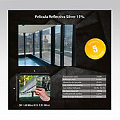Película Reflectiva Plata 2x1,52m HGCSRSV15-2m