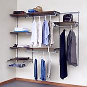 Excellence Closet Rejilla Madera 3x1.5x0.4 mt Blanco