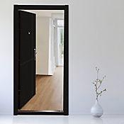 Puerta de Seguridad Melamina 0.96 x 2.05 Mts Wengue Izq+Diseño C