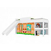 Cama Playground 109x193x92,6 Blanco