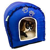 Iglú para Mascotas Desarmable 43x45x43 cm Azul