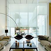 Enrollable Solar Screen 5 Blanco A La Medida Ancho Entre 300.5-320 cm Alto Entre 100.5-135 cm