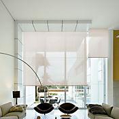 Enrollable Solar Screen 5 Beige A La Medida Ancho Entre 60-100 cm Alto Entre 200.5-220 cm
