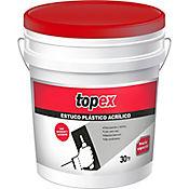 Estuco Plástico Topex Cuñete 30Kg 4.5  Galón