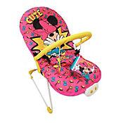 Silla Bouncer Minnie Musical con Vibración Rojo