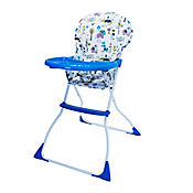 Silla Comedor Arti Niños 106x71x64cm Azul Jungla