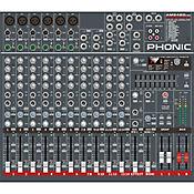 Consola Mezclador de Audio de 6 Canales AM642D USB