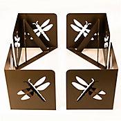 Soportes para Cama de Jardín Diseño Libélula Set x 4