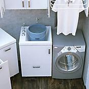 Mueble Lavadero PRO Canto 2mm 60 centímetros x 60 centímetros Blanco