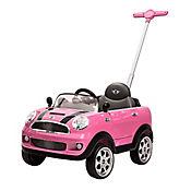 Push Car Minicooper Rosado