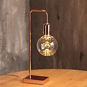 Lámpara Mesa Sines 1 Luz E27 Cobre