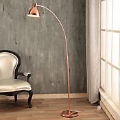 Lámpara Pie Maia 1 Luz E27 Cobre