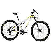 Bicicleta de Montaña Rin 27,5 pulg Blanco