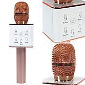 Micrófono Recargable Karaoke Bluetooth Q7 Café