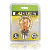 Led Miniglobo Filamento Golden 4W Lc E27 25.000 Hrs