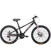 Bicicleta Cliff Lizard 24 Black Rosado