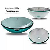 Lavamanos Cristal Transparente de 38Centimetros
